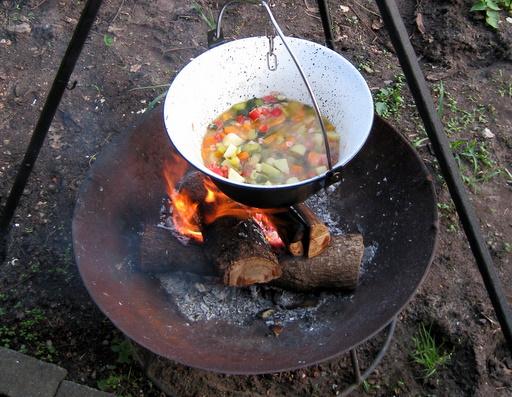 Aftensmad - minestroneinspireret suppe