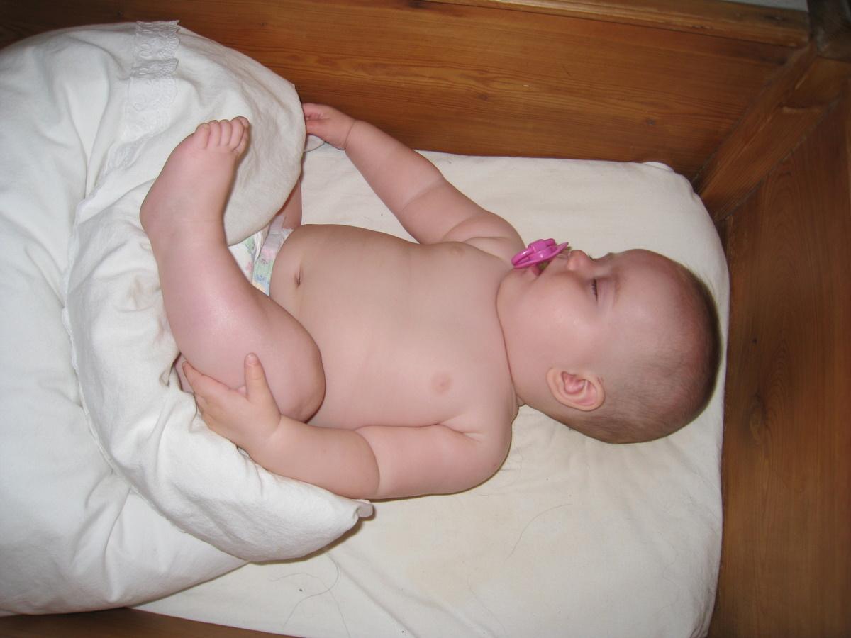 Man sover bedst med fødderne på dynen