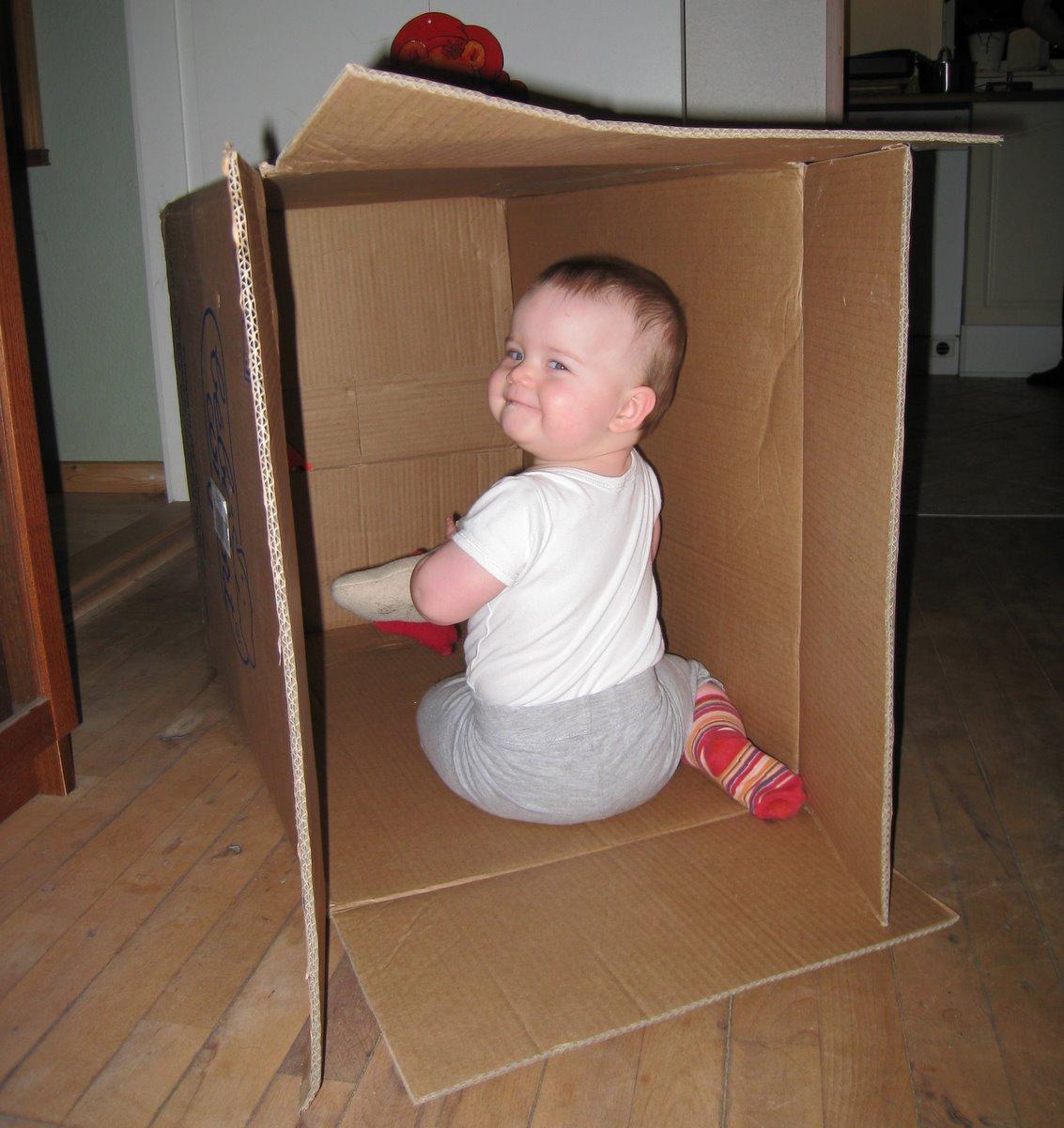 Kasser er altså bare godt legetøj.