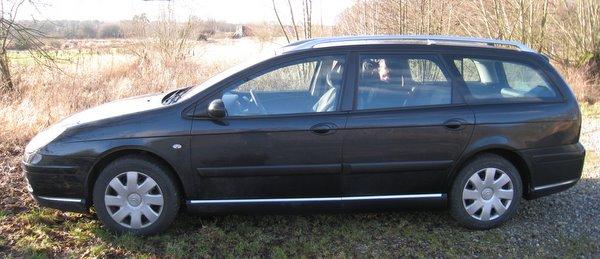 Vores nye bil.