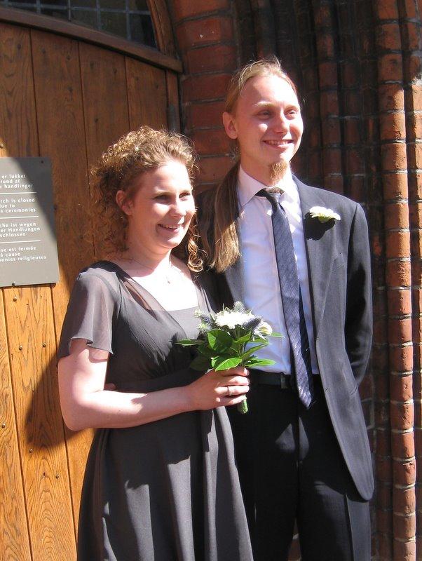 Nogen blev gift.
