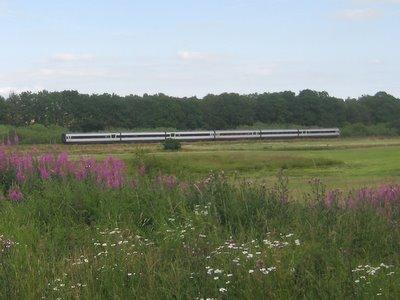 Skulle det nu være et tog?