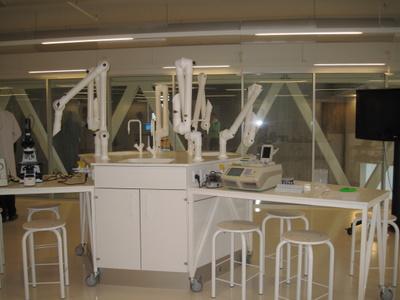 Laboratoriet.