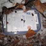 En bundfrossen cache – vi kunne ikke få den op.