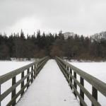 Broen over til Odden.