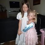 Udklædning - Ellens kjole er den Ane havde på til Bo og Lauras bryllup.